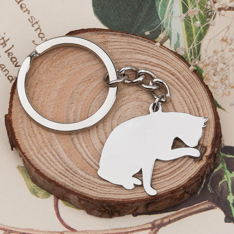 Paws For a Moment Keychain