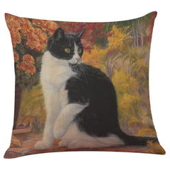 Flowers and Cats Pillowcase Collection