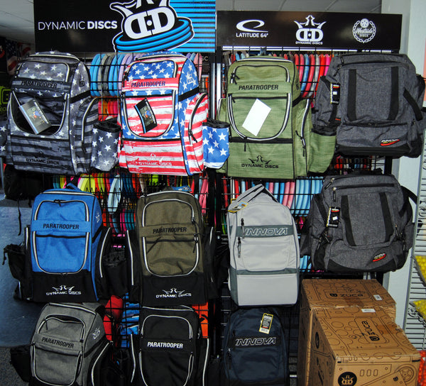 Disc Golf Backpacks