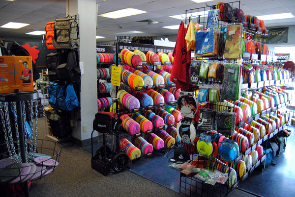 PB Sports Disc Golf Displays