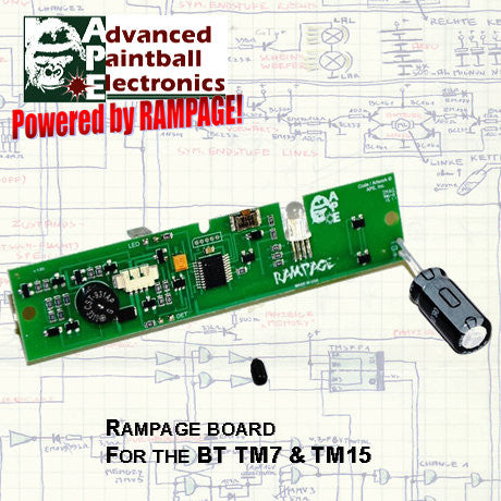 APE Rampage Board for the BT TM7 and TM15 - TechT