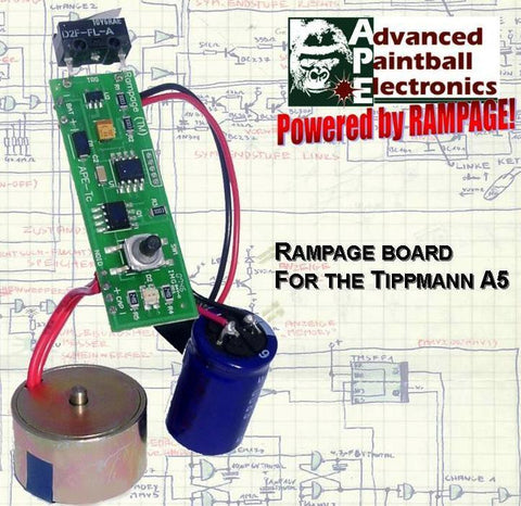 APE Rampage Board for the A5 w/PowerShot Solenoid - TechT