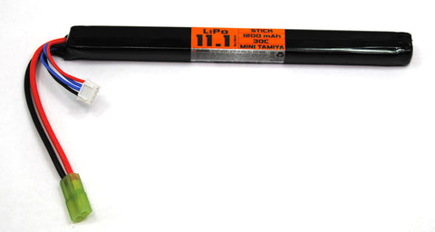 Valken 11.1V 1200 mAh 30C Long Stick Battery - Valken Airsoft