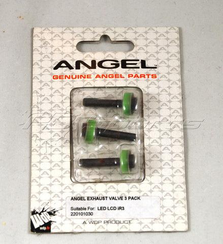 Angel Exhaust Valve 3 pack for LED, LCD, iR3 - Angel Paintball Sports