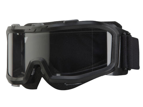 JT Splatmaster Optix paintball goggles for .50 cal low profile black goggle - JT Splatmaster