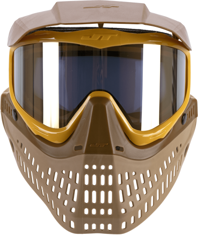 JT Spectra Proflex LE Goggle Brown - Tan - Gold with Prism 2.0 Gold - JT