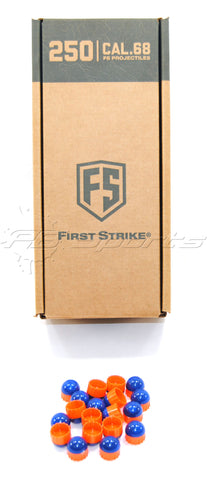 First Strike Rounds - 250 Round - Blue/Orange
