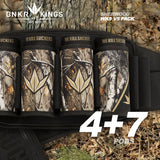 Bunker Kings V5 WKS Strapless Pack 4+7 - Sherwood Camo