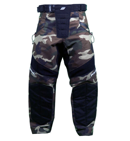 Social Paintball Grit V3 Pants - Woodland Camo - XL/2XL - Social Paintball