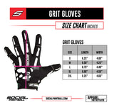 Social Paintball Grit Deluxe Gloves - USA - 2XL
