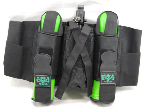 3Skull 2+1 Pod Harness w/ Pod Ejection - Black - 3Skull