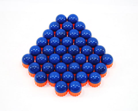 First Strike Rounds - 40ct - Blue/Orange
