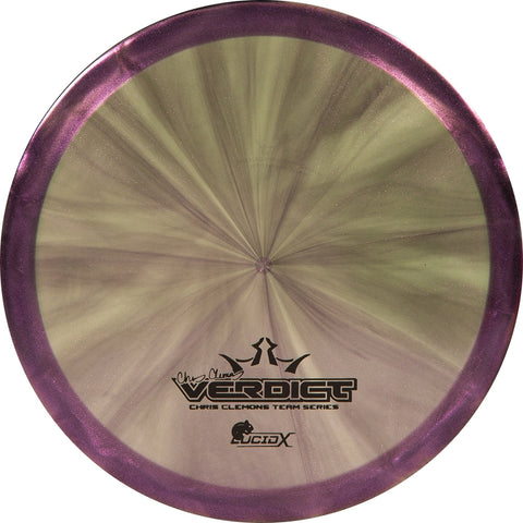 Dynamic Discs Lucid-X Chameleon Verdict Chris Clemons 2020 Team Series V3 - 176-180g
