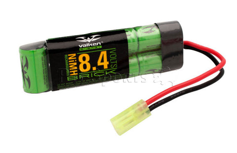 Valken Energy NiMH 8.4v 1600mAh Flat Pack Mini (Brick) style battery - Valken Paintball