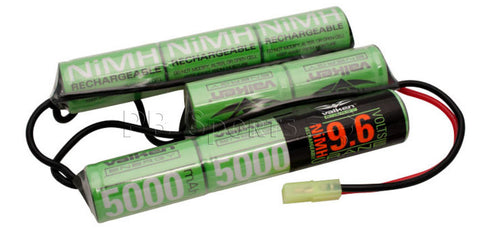 Valken Energy NiMH 9.6v 5000mAh Crane style battery - Valken Paintball