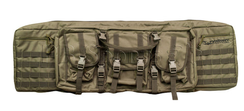 "Valken Tactical 36"" Double Rifle Case - OD Green - Valken Paintball"