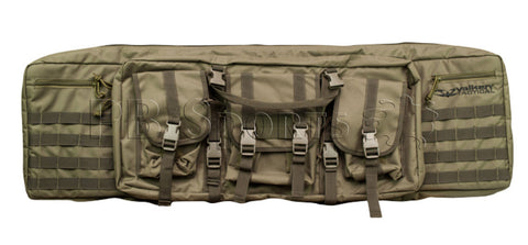 "Valken Tactical 42"" Double Rifle Case - OD Green - Valken Paintball"
