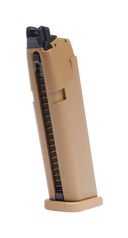 Elite Force Glock 19X 20 Round Airsoft Pistol Gas Magazine 6mm FDE - Elite Force