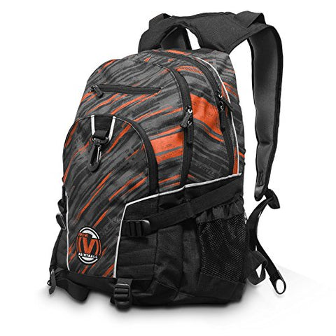 New Virtue Wildcard Backpack (Graphic Coral Red) - Virtue