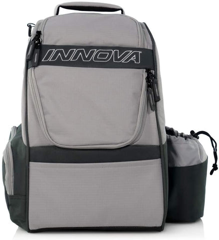 Innova Adventure Disc Golf Backpack - Silver/Grey - Innova