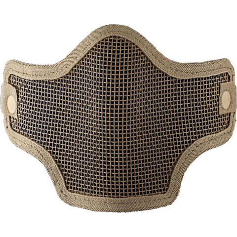 Valken Tactical Kilo 2G Wire Mesh Airsoft Mask - Tan