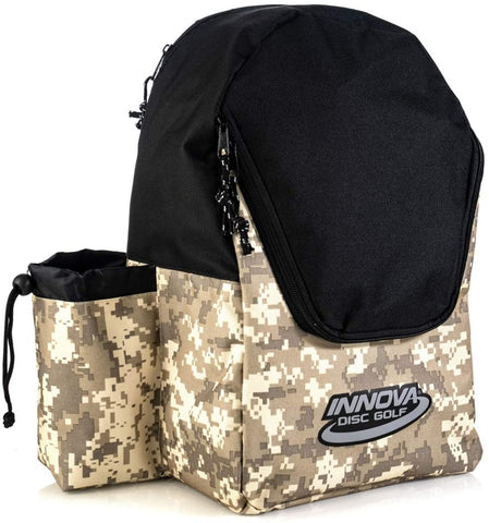 Innova DISCover Disc Golf Backpack - Camo/Black - Innova