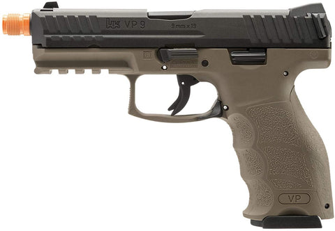 Heckler & Koch VP9 Green Gas Blowback Airsoft Pistol - Tan - H&K