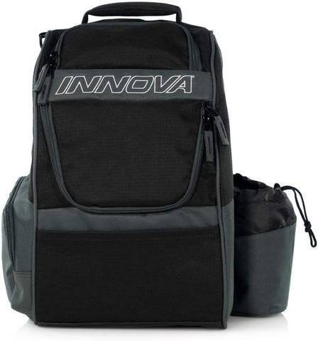 Innova Adventure Disc Golf Backpack - Black/Grey - Innova