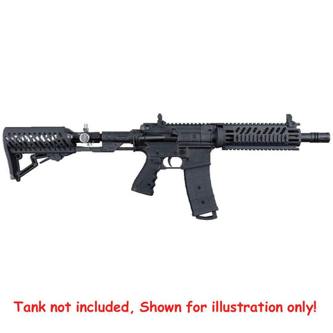 Tippmann TMC  Black Mag Fed Paintball Gun with Air-Thru Stock Kit - Tippmann Sports