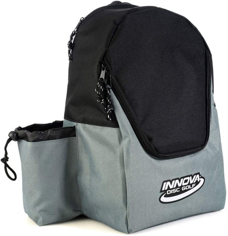 Innova DISCover Disc Golf Backpack - Grey/Black - Innova