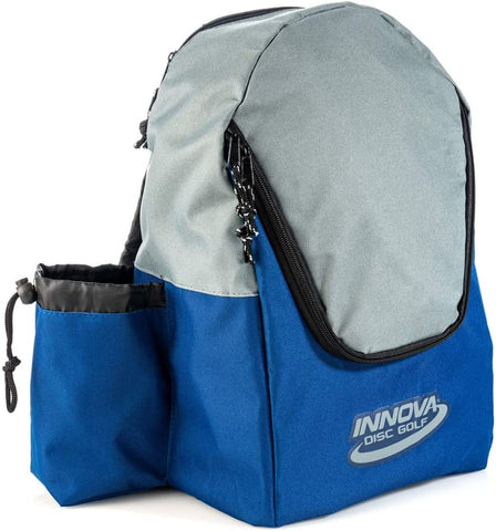 Innova DISCover Disc Golf Backpack - Blue/Grey - Innova