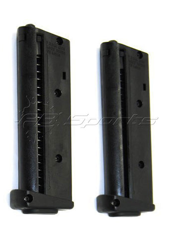 Mission Less Lethal TPR 7 Round Mag 2-Pack - Mission Less Lethal
