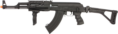 CYMA Kalashnikov Fully Licensed 60th Anniversary Edition Full Metal AK47 Tactical Airsoft AEG - Black - Evike