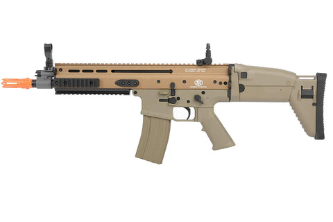FN Scar-L Tan AEG Metal Polymer with Battery and Charger