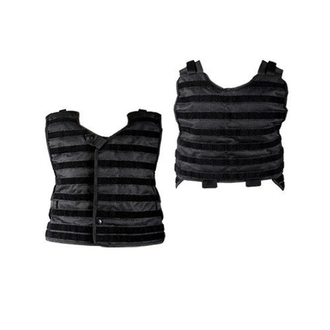 NXe Extraktion Series Heavy Vest Rig Shell - Black - NXE