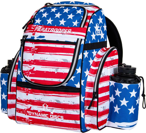 Dynamic Discs Paratrooper Disc Golf Bag - Star and Stripes - Dynamic Discs