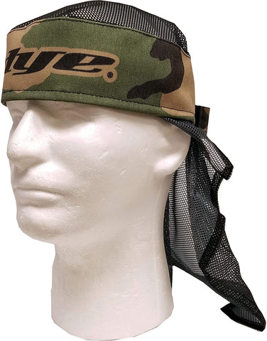 Dye Paintball Head Wrap - Woodland / Black - DYE