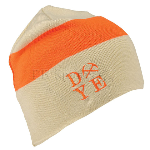 Dye Beanie 3AM - Tan/Hunter Orange