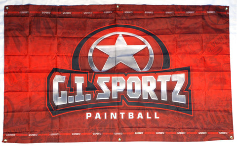 GI Sportz Paintball Banner - 3'x5'