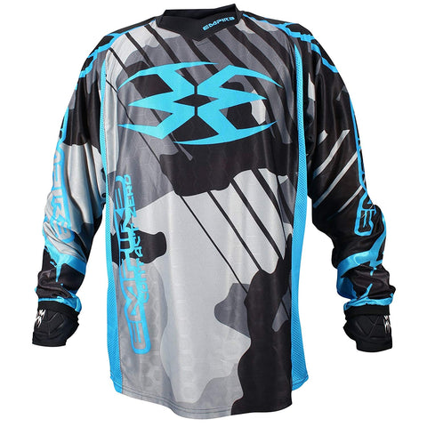 Empire Contact Zero F6 Jersey - Grey/Blue - 2XL