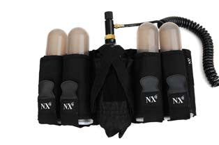 NXe Recreational Pak, 4+1 Pod and Tank Harness - Black