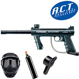 Tipmmann 98 Custom ACT Black Power Pack - Tippmann Sports