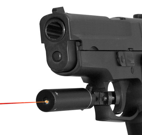 Red Laser Sight with Trigger Guard Mount - Black - NC Star