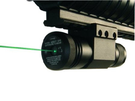 NcStar Green Laser with Weaver Base