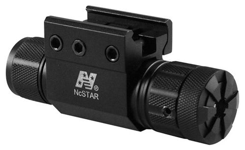 Pistol and Rifle Green Laser with Weaver Mount & Pressure Switch - NC Star