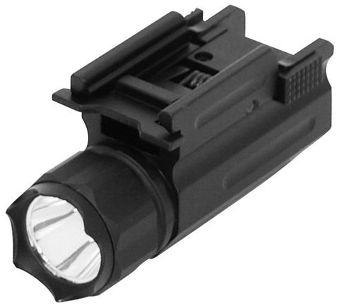 Pistol & Rifle LED Flashlight with Quick Release Weaver