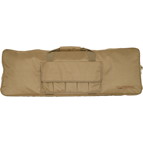 "Valken Tactical 42"" Single Rifle Case - Tan - Valken Paintball"