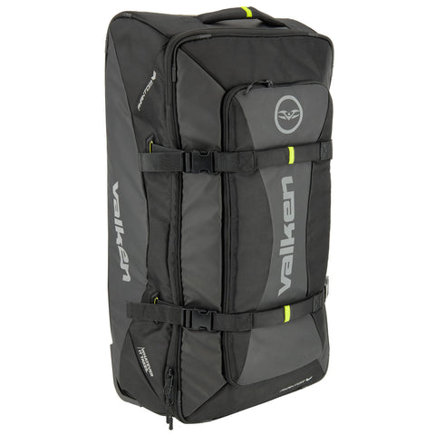 New Valken Phantom Agility Rolling Paintball Large Gear Bag Black FREE SHIPPING - Valken Paintball