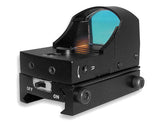 Compact Tactical Red Dot Reflex Sight - Weaver Base - Black - NC Star