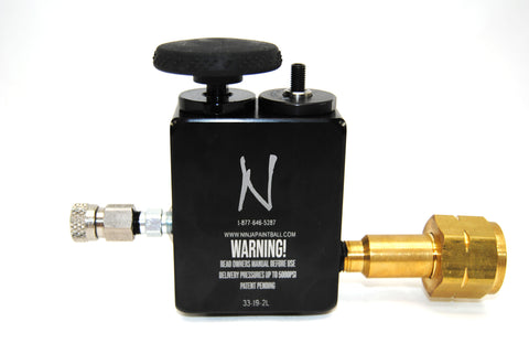 Ninja High Pressure Fill Station V2 - Ninja Paintball